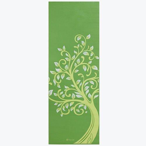 Gaiam Yoga mat 3mm Tree of Wisdom