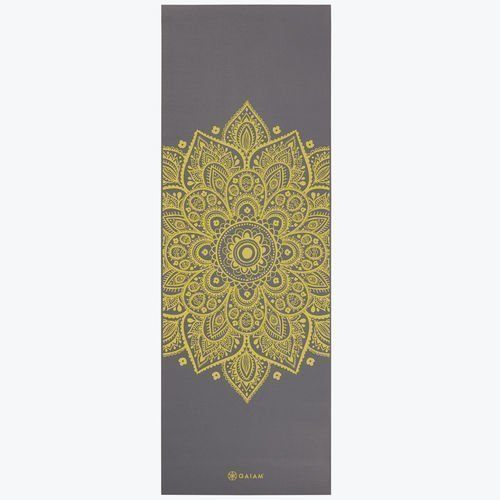 Gaiam Yoga mat 5mm Citron Sundial