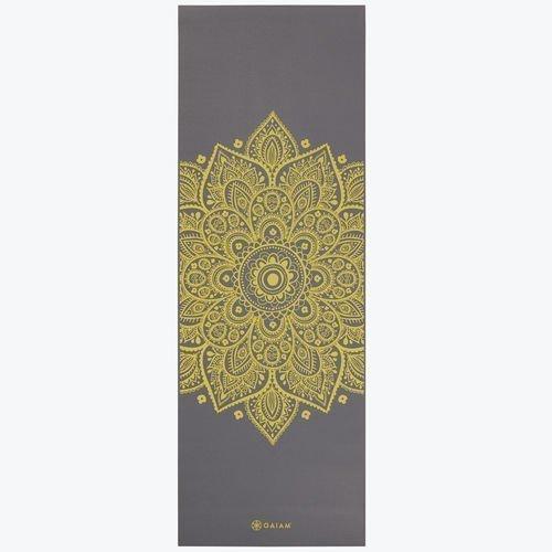 Gaiam Yoga mat 5mm Citron Sundial