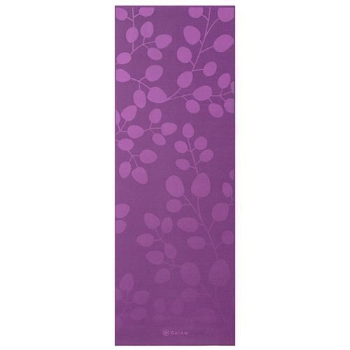 Gaiam Yoga mat 5mm Violet Spring
