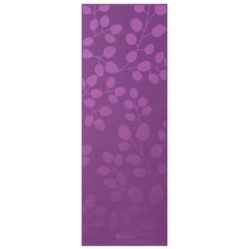 Gaiam Yoga mat 5mm Violet Spring