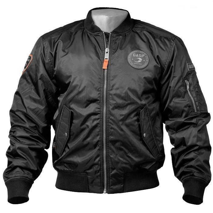 Gaspari Flight Jacket black L