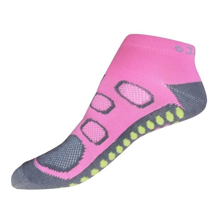 Gococo No Show Circulation pink/grey 35-38