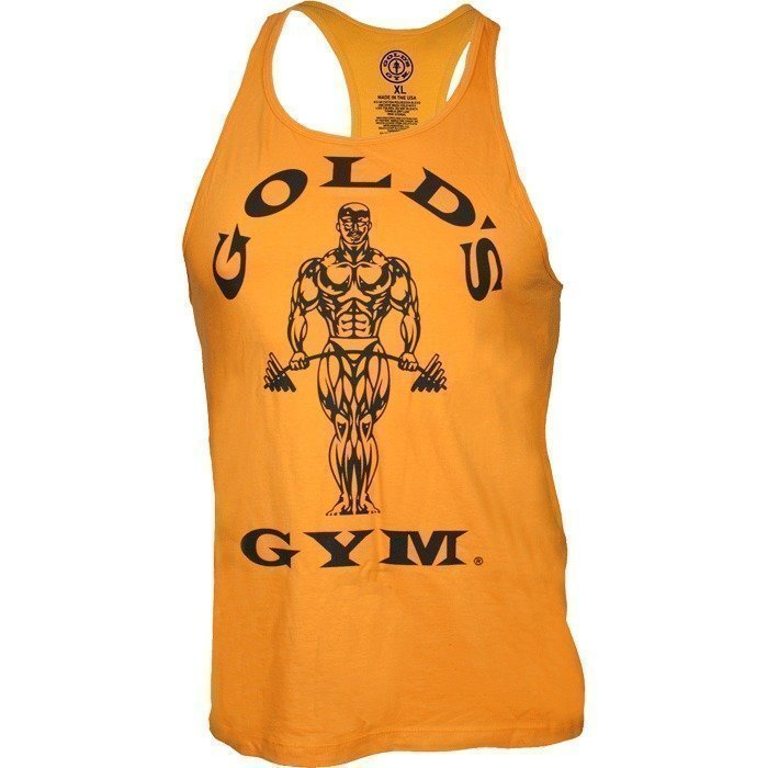 Gold's Gym Classic Gold's Gym Stringer Tank Top gold L