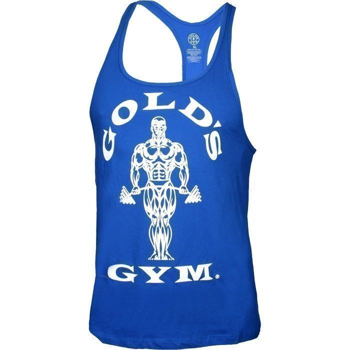 Gold's Gym Classic Gold's Gym Stringer Tank Top royal blue L