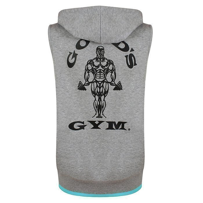 Gold's Gym Golds Gym Sleeveless Ladies Hoodie Grey