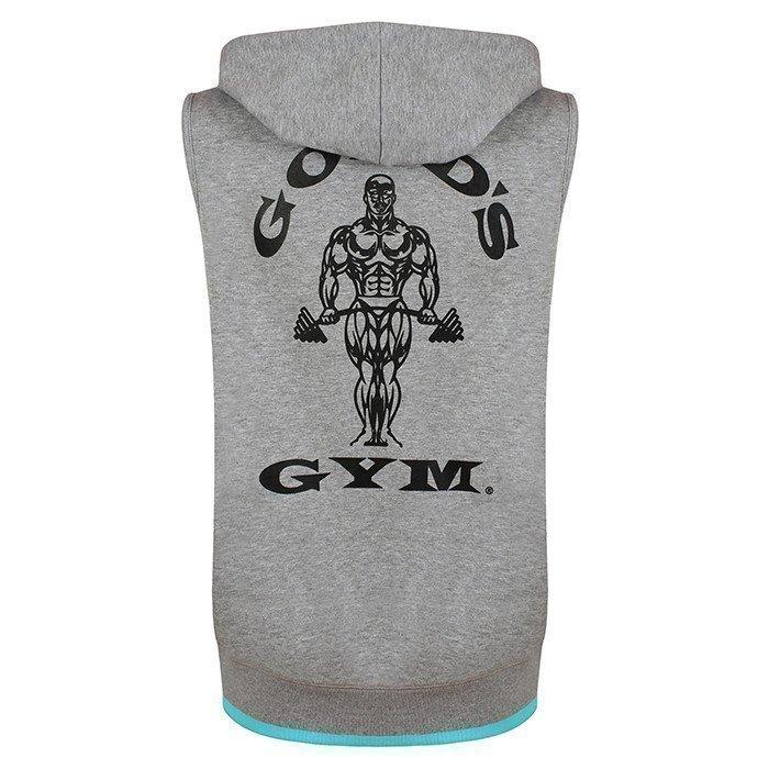 Gold's Gym Golds Gym Sleeveless Ladies Hoodie Grey