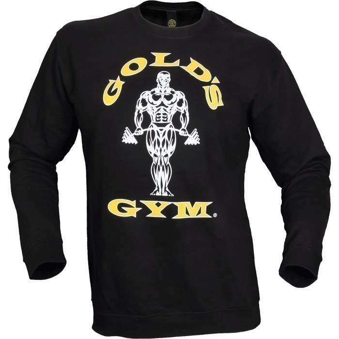 Gold's Gym Men's Fitted Sweatshirt black L