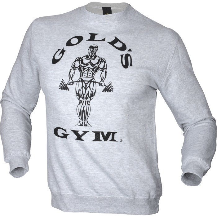 Gold's Gym Men's Fitted Sweatshirt heather grey XXL