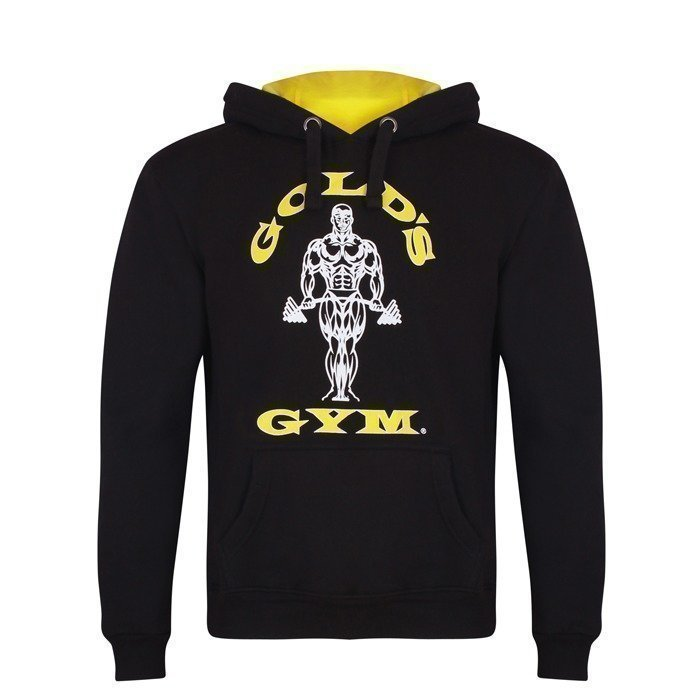 Gold's Gym Muscle Joe Hoodie black L