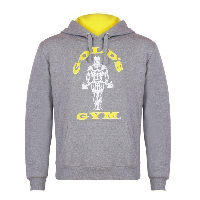 Gold's Gym Muscle Joe Hoodie grey L