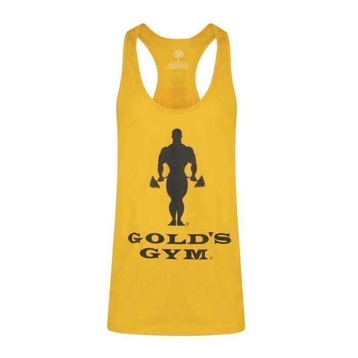 Gold's Gym Muscle Joe Premium Stringer Gold XXL