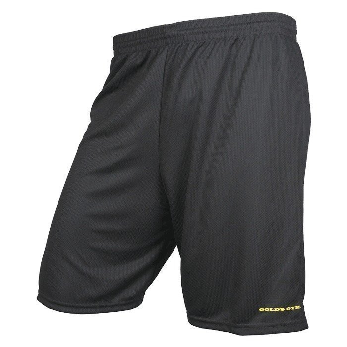 Gold's Gym Premium Zip-Pocket Short black L