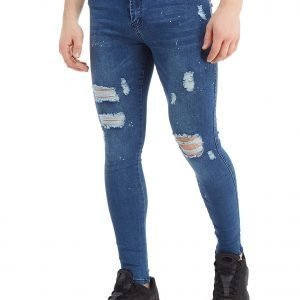 Good For Nothing Mid-Rise Denim Jeans Sininen