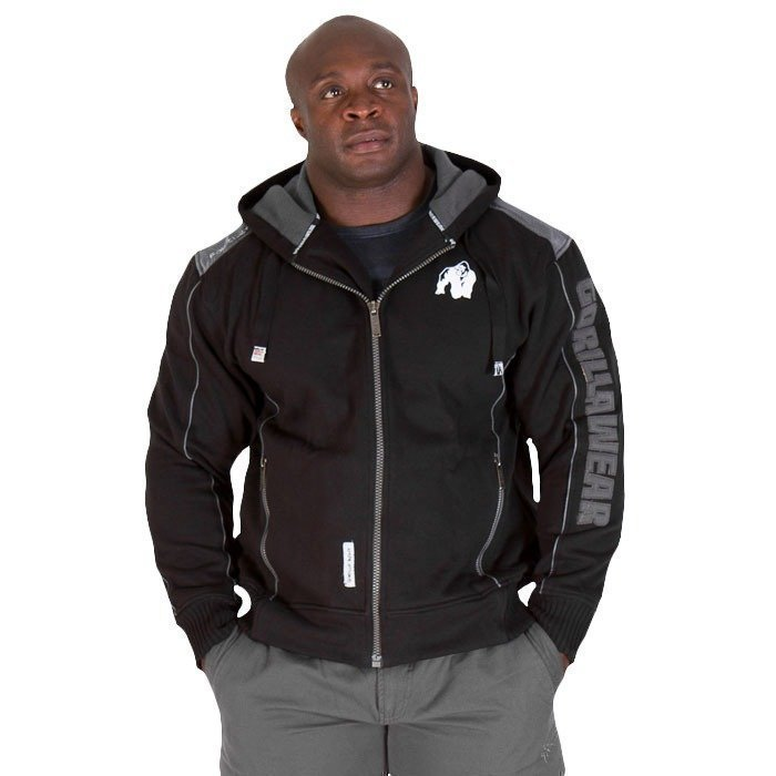 Gorilla Wear 82 Jacket black XXL