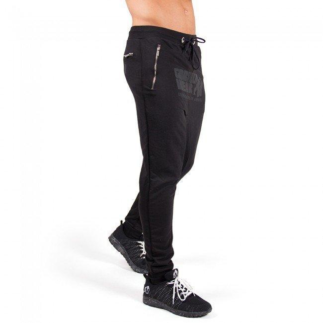 Gorilla Wear Alabama Drop Crotch Black L