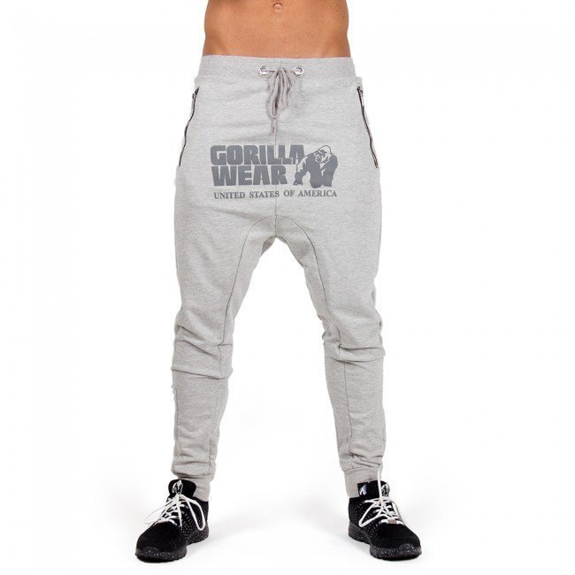 Gorilla Wear Alabama Drop Crotch Grey XXXL