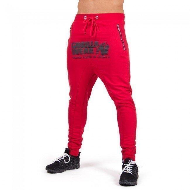 Gorilla Wear Alabama Drop Crotch Red L
