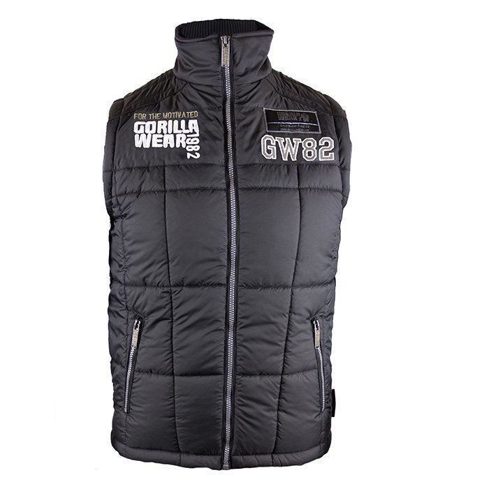 Gorilla Wear Bodywarmer GW82 black XL