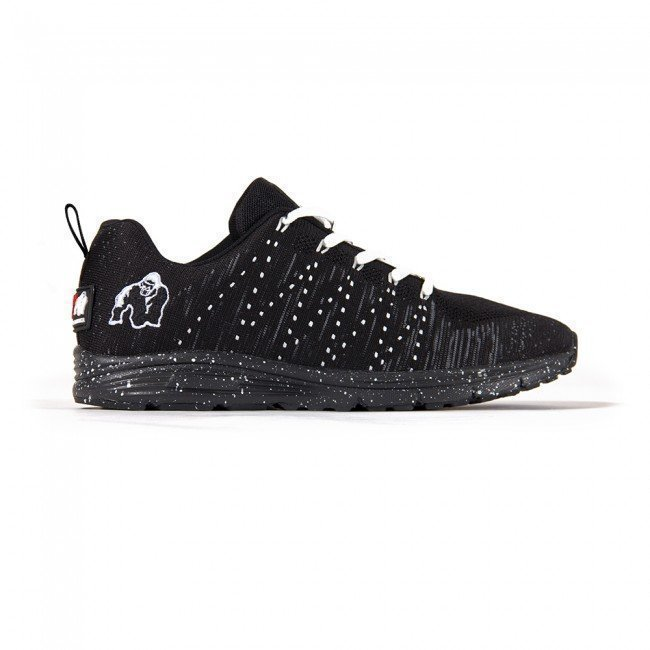 Gorilla Wear Brooklyn Knitted Sneakers Black/White