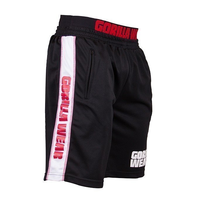 Gorilla Wear California Mesh Shorts black/red