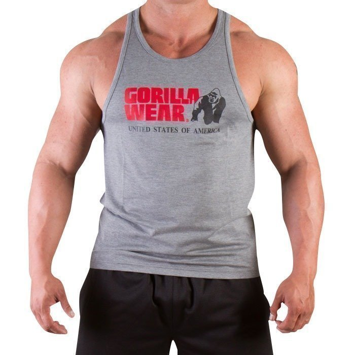 Gorilla Wear Classic Tank Top grey melange M