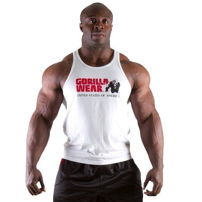 Gorilla Wear Classic Tank Top white XXL