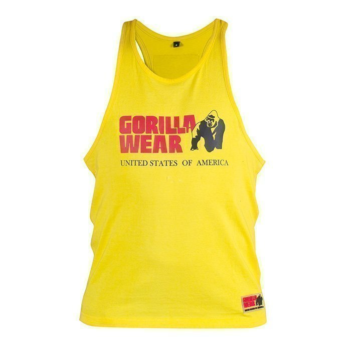 Gorilla Wear Classic Tank Top yellow XL