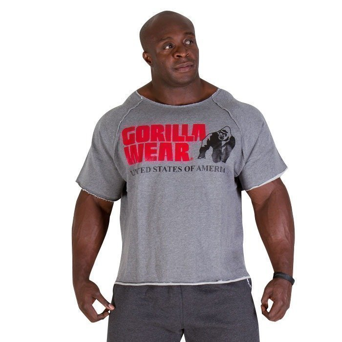 Gorilla Wear Classic Workout Top grey