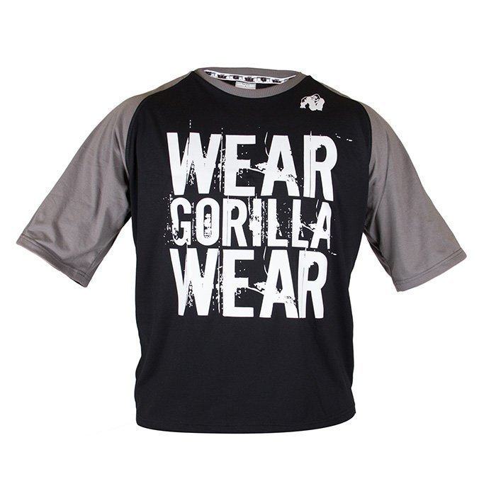 Gorilla Wear Colorado Oversized Tee black/grey 4XL