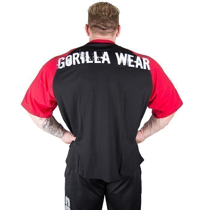 Gorilla Wear Colorado Oversized Tee black/red XL