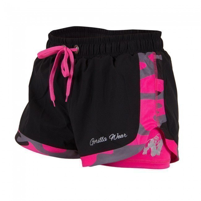 Gorilla Wear Denver Shorts Black/Pink XS
