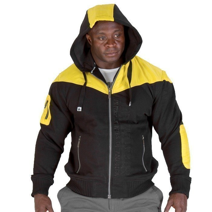 Gorilla Wear Disturbed Jacket black/yellow