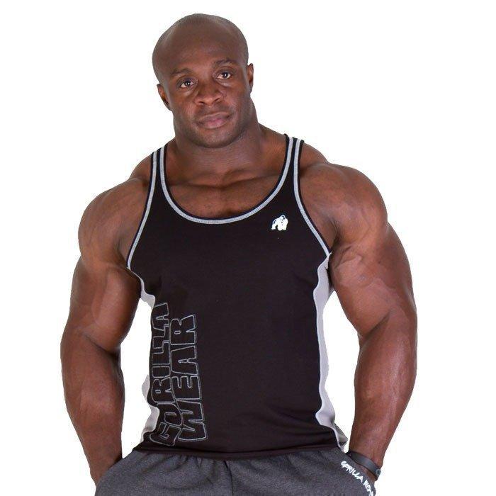 Gorilla Wear Dunellen Tank Top black/grey XL