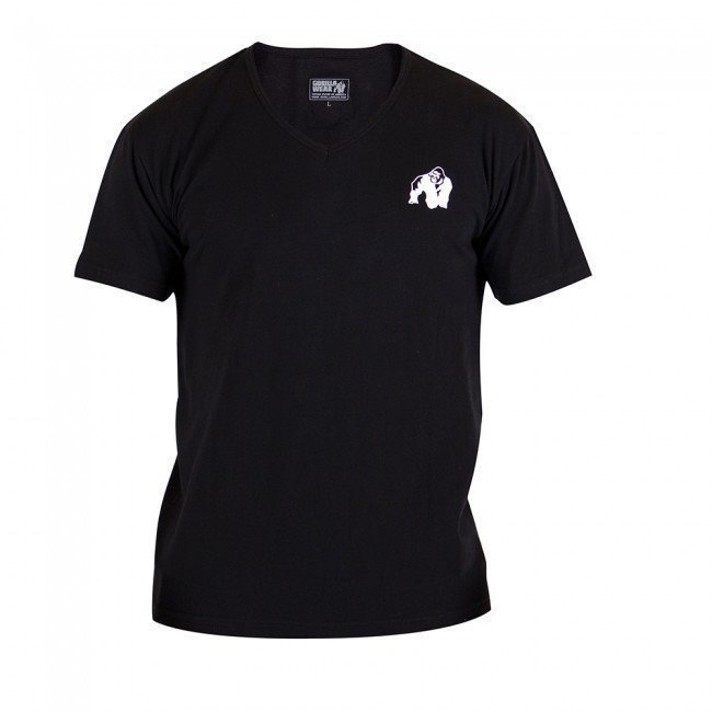 Gorilla Wear Essential V-Neck Tee Black M