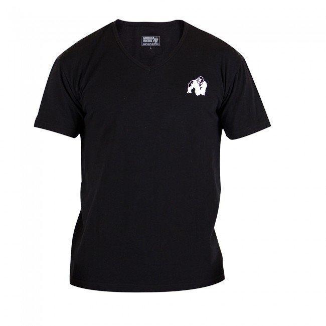 Gorilla Wear Essential V-Neck Tee Black XL