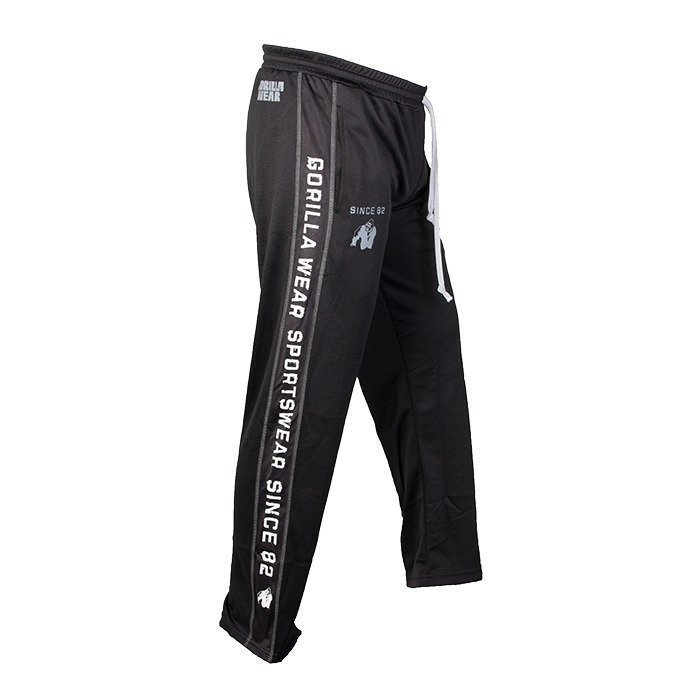 Gorilla Wear Functional Mesh Pants blk/whi