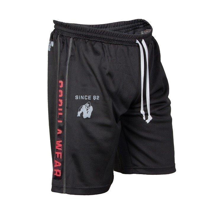 Gorilla Wear Functional Mesh Shorts black/red