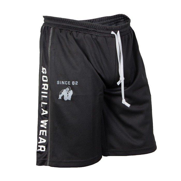 Gorilla Wear Functional Mesh Shorts black/white L/XL