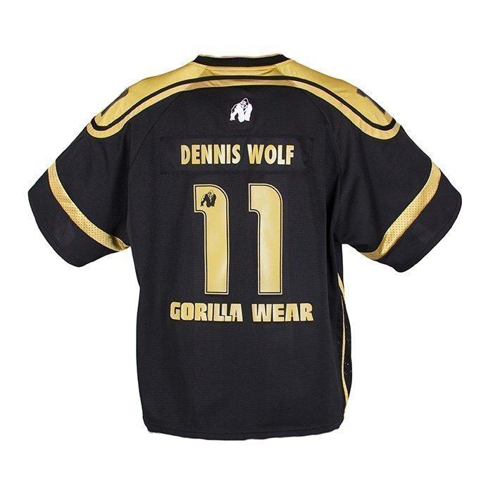 Gorilla Wear GW Athlete Tee black/gold M
