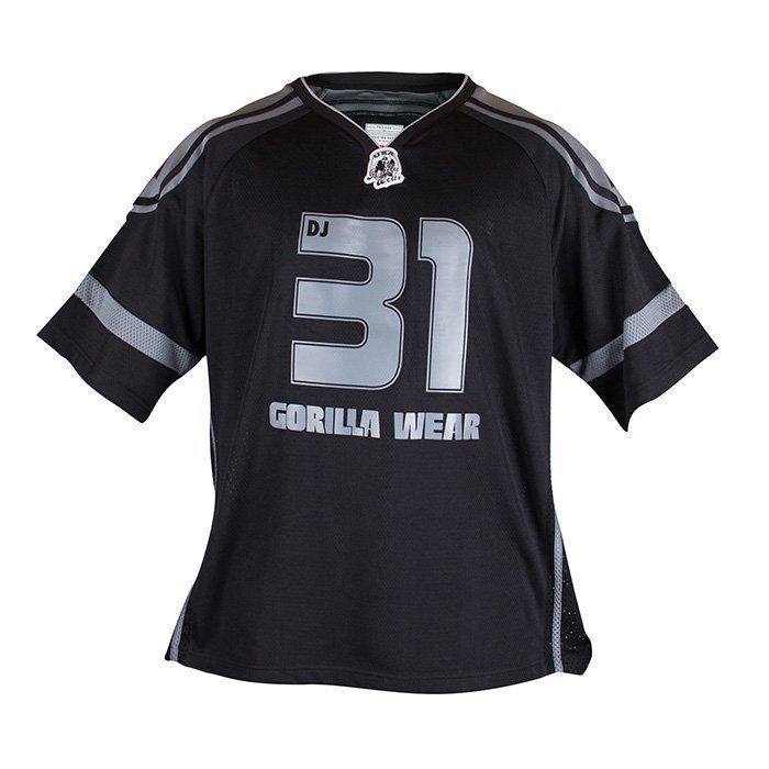 Gorilla Wear GW Athlete Tee black/grey 4XL