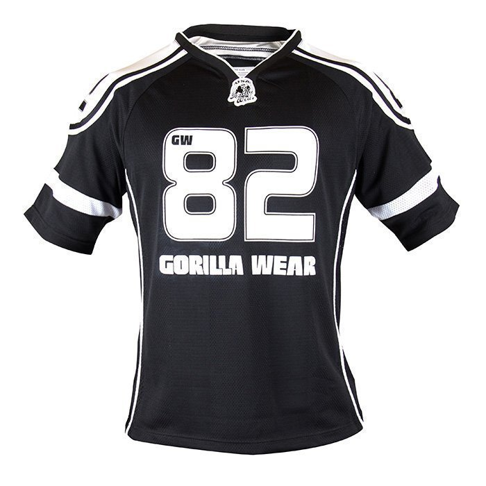 Gorilla Wear GW Athlete Tee black/white 4XL