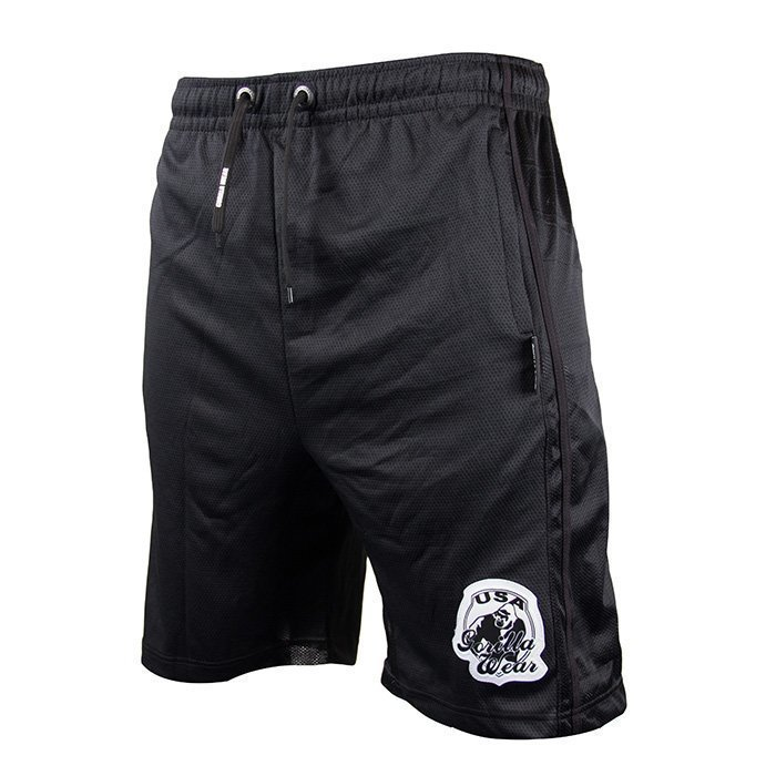 Gorilla Wear GW Oversized Athlete Shorts black S/M