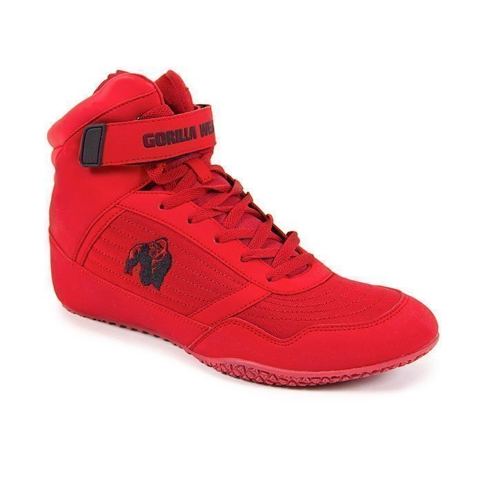 Gorilla Wear G!WEAR High Tops Red 47