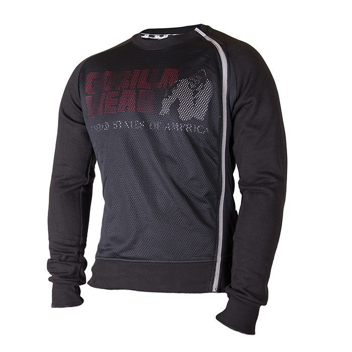 Gorilla Wear Memphis Mesh Sweatshirt black XL