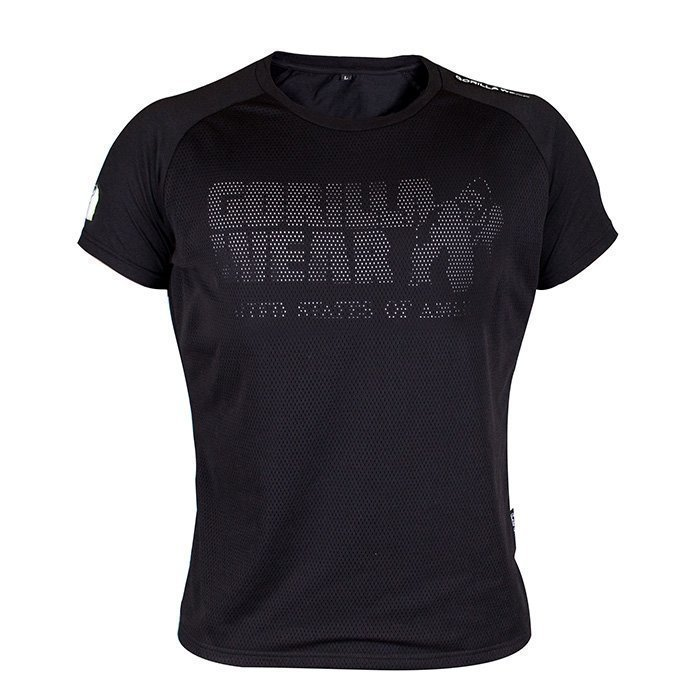 Gorilla Wear Memphis Mesh Tee black 4XL