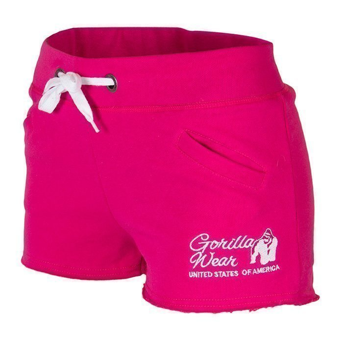 Gorilla Wear New Jersey Sweat Shorts pink L