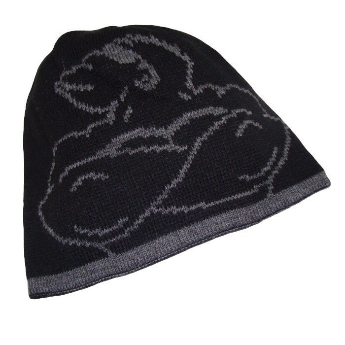 Gorilla Wear Reversible Beanie black