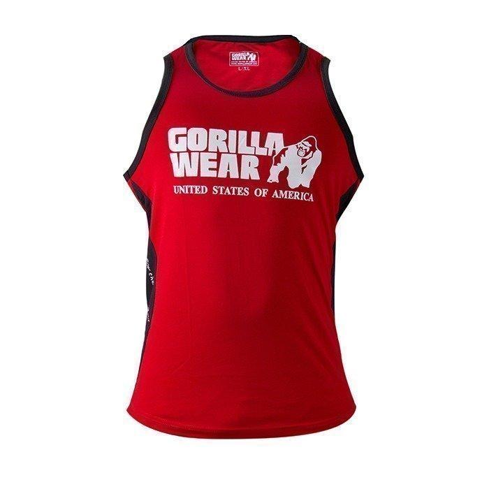 Gorilla Wear Stretch Tank Top red