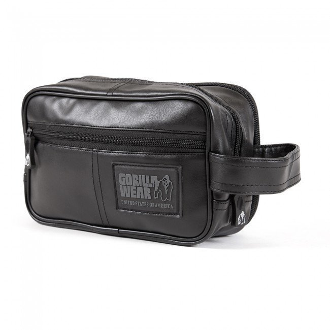 Gorilla Wear Toiletry Bag Black